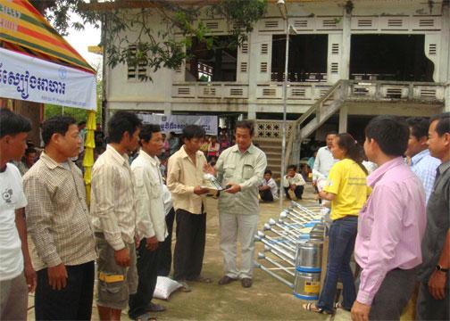 Prey Kabas district